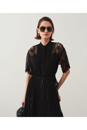 İpekyol Dantelli Ve Piliseli Elbise 0
