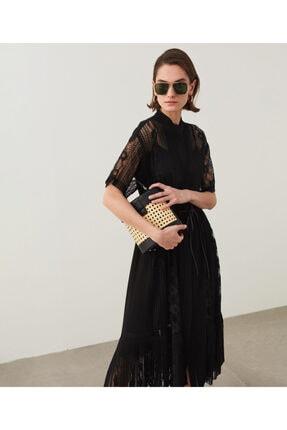 İpekyol Dantelli Ve Piliseli Elbise 1