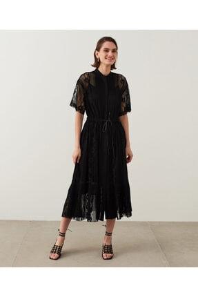 İpekyol Dantelli Ve Piliseli Elbise 2