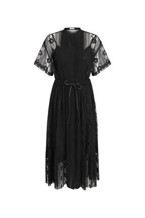 İpekyol Dantelli Ve Piliseli Elbise 4