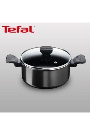 TEFAL Titanyum 1x Extra Cook&clean Difüzyon Tabanlı Derin Tencere - 24 Cm 0