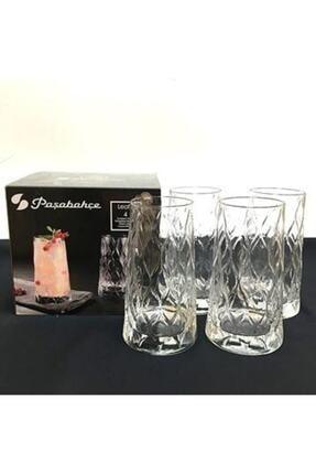 Paşabahçe 420955 Leafy Meşrubat Bardağı 4'lü 0