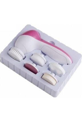 Beauty Yüz Temizleme Masaj Ve Peeling Fırça Seti 5 In 1 Pilli 1