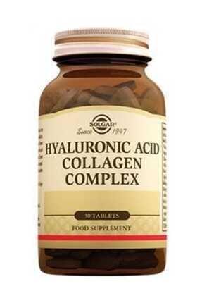 Solgar Hyaluronic Acid Collagen Complex 120 Mg - 30 Tablet 0