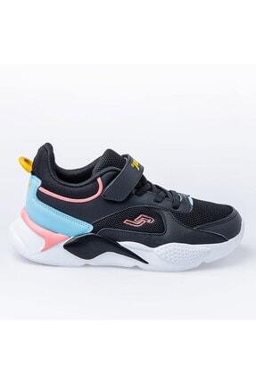 Jump Unisex Çocuk Siyah Royal Spor Ayakkabı 24931 0