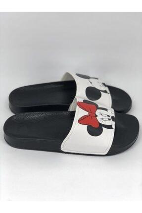 AKBAŞ Mickey Ve Mouse Baskılı Kadın-kız Terliği 2