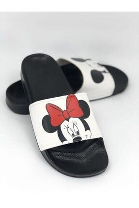 AKBAŞ Mickey Ve Mouse Baskılı Kadın-kız Terliği 4