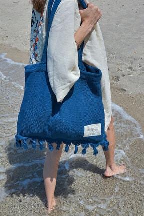 Plaj Çantası, Çanta ,%100 Pamuklu Organik Çok Açmaçlı Çanta 45*47 Cm Plaj çantası 005