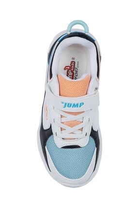 Jump Unisex Beyaz Somon Çocuk Spor Ayakkabı 24931 2