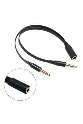 Brs Kulaklık Mikrofon Çevirici Ayırıcı Switch Splitter 3.5mm 4