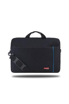 """Picture of Bnd700m Workstation 15.6""""su Geçirmez Kumaş Macbook Mac Air, Notebook, Laptop El Çantası-siyah-mavi"""