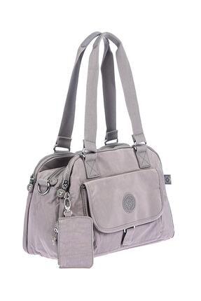 Smart Bags Kadın Gri Omuz Çantası 1
