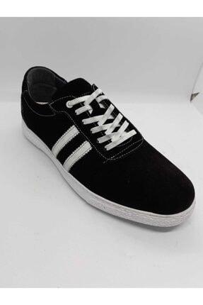 Siyah Deri Spor Ayakkabı bapba075