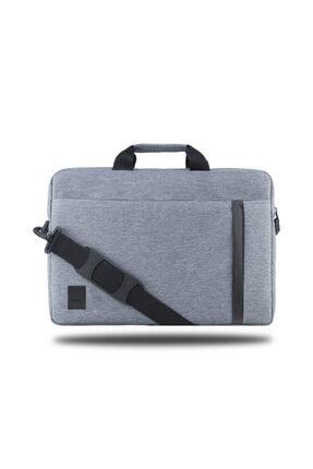 """Picture of Bnd804 Worklife 15.6"""" Su Geçirmez Kumaş Macbook, Mac Air, Notebook, Laptop El Çantası -gri"""