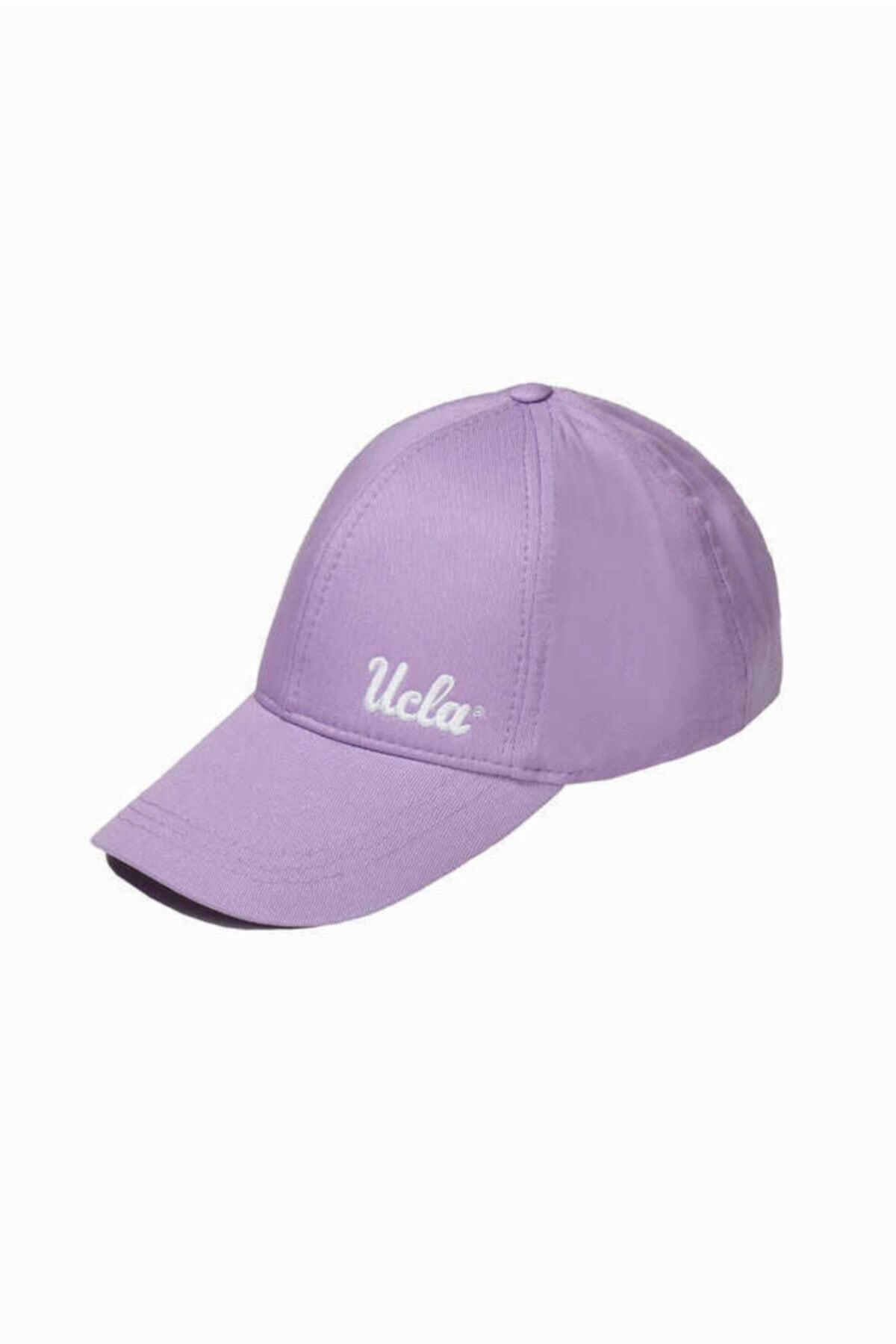 Jenner Lila Baseball Cap Nakışlı Şapka