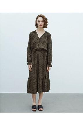 MISS IPEKYOL Puantiye Desen Elbise 0