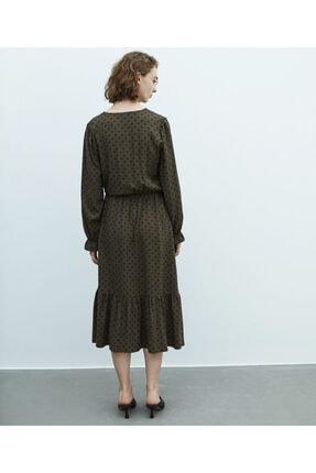 MISS IPEKYOL Puantiye Desen Elbise 2