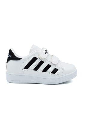 Efolle Unisex Çocuk Siyah Beyaz Sneaker 1