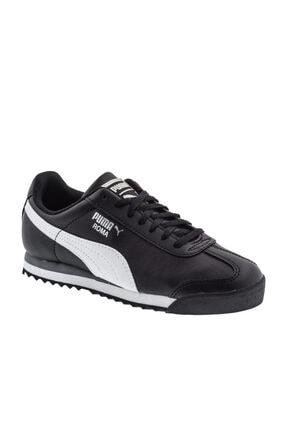 Puma Unisex Çocuk Siyah Roma Basıc Spor Günlük Ayakkabı 354259-011 0