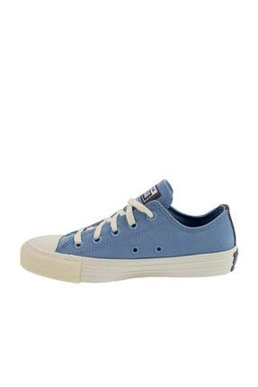 Converse Chuck Taylor All Star Kadın Mavi Spor Ayakkabı (570306C.429) 1
