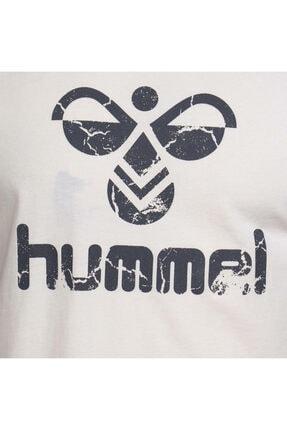 HUMMEL Tıto Beyaz Kısa Kollu Erkek T-Shirt 4