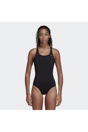 adidas Kadın Siyah Fit Suit Sol Yüzücü Mayosu Dq3312 0