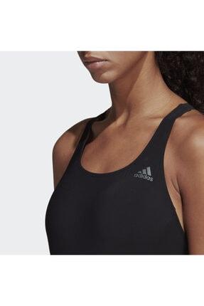 adidas Kadın Siyah Fit Suit Sol Yüzücü Mayosu Dq3312 4