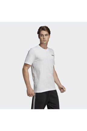 adidas E PLN TEE Beyaz Erkek T-Shirt 100403521 1