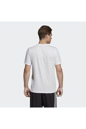 adidas E PLN TEE Beyaz Erkek T-Shirt 100403521 3