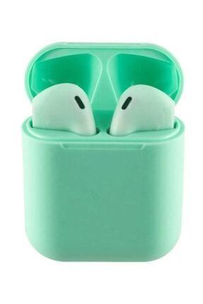 Tws I12 Yeşil Iphone Android Universal Bluetooth Kulaklık Hd Ses Kalitesi 0