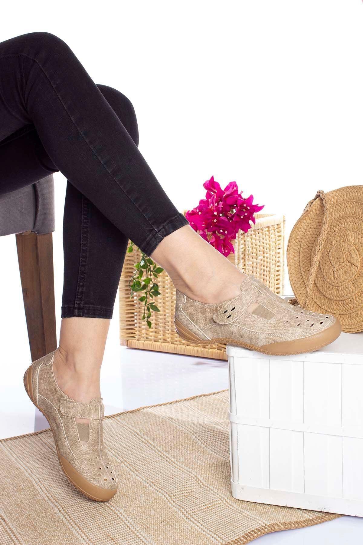 Ortopedik Ped Vizon Kadın Ayakkabı