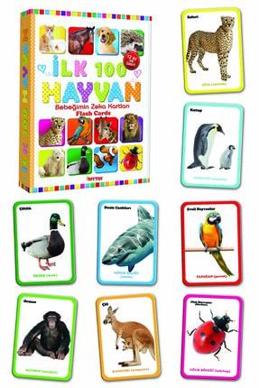 Diytoy Eğitim Seti 100 Sözcük + Ilk 100 Hayvan + Ilk 100 Sebze Meyve + Bebeğimin Ilk Zeka Kartları 3