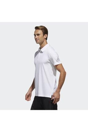 adidas CLMCH M POLO SL Beyaz Erkek Kısa Kol T-Shirt 101117604 1