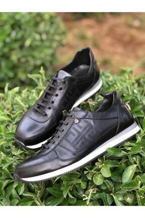 Picture of 11902260 Deri Kalın Taban Siyah Erkek Casual Ayakkabı
