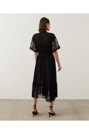 İpekyol Dantelli Ve Piliseli Elbise 3