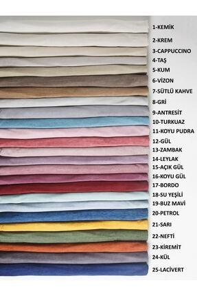 VELERDE HOME Petrol Rengi Velerde Şönil Çift Taraflı Çekyat Koltuk Örtüsü Şalı -22 Renk 3