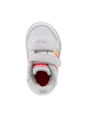 adidas HOOPS 2.0 CMF I Beyaz Kız Çocuk Sneaker Ayakkabı 100663751 3