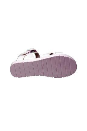 Polaris 91.508159.P Beyaz Kız Çocuk Sandalet 100380036 2