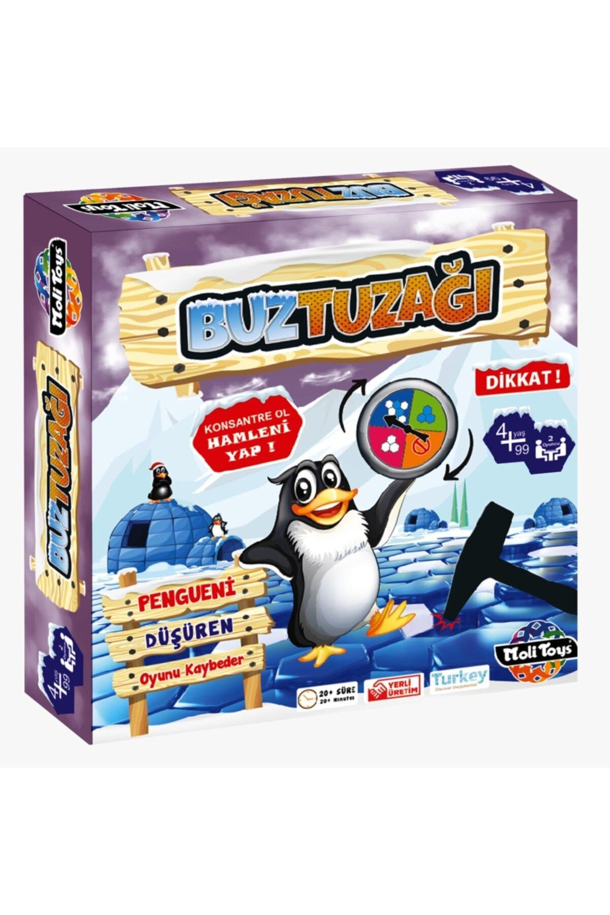 Buz Tuzağı Akıl Oyunu Eğitici,zeka Ve Strateji Oyunu
