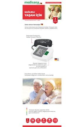 medisana MTM 48670 Alman Tasarım Kol Tipi Dijital Tansiyon Aleti - 3 Yıl Garantili 2