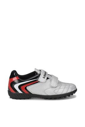 Kinetix BUMERA TURF Gümüş Siyah Kırmızı Erkek Çocuk Halı Saha Ayakkabısı 100246256 1