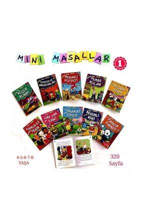 Timaş Çocuk Mini Masallar Set 1 (1 - 10 Set) 0