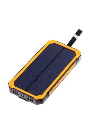 Angel Eye 12.000 Mah Solar Güneş Enerjili Powerbank Kamp Tipi Led El Feneri 3