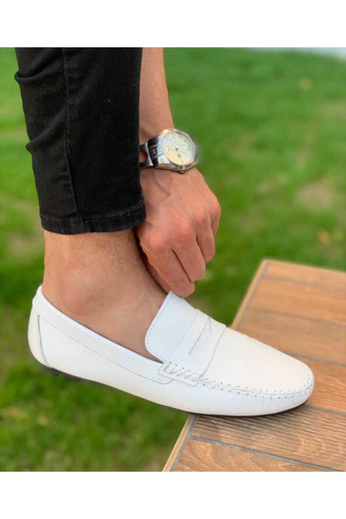 Hakiki Deri Erkek Ayakkabı Akm Lizbon 00705