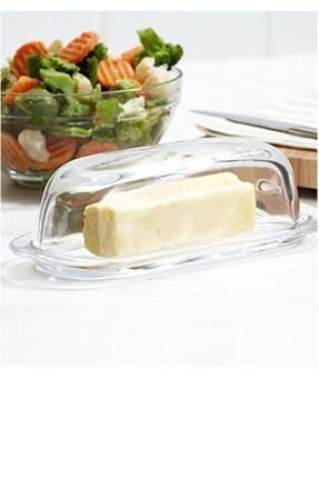 Paşabahçe 2'li Cam Basic Kapaklı Tereyağlık Peynir Tereyağ Kahvaltılık Saklama & Sunum Kabı 3