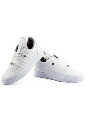 L.A Polo 07 Beyaz Dikişli Unisex Spor Ayakkabı 3