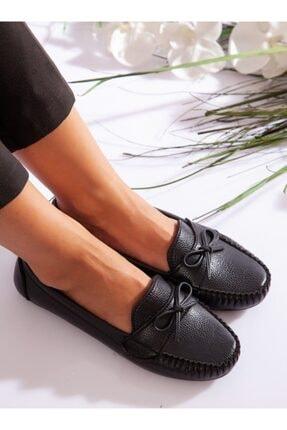 ayakkabıhavuzu Kadın Siyah Günlük Ayakkabı 3