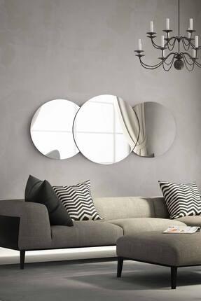 bluecape Marsilya  Antre Hol Koridor Duvar Salon Mutfak Banyo Wc Ofis Çocuk Yatak Odası Set Ayna 140 Cm 1