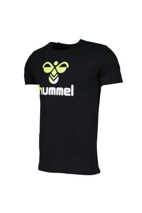 HUMMEL Rodney Siyah Kısa Kollu Erkek T-Shirt 0