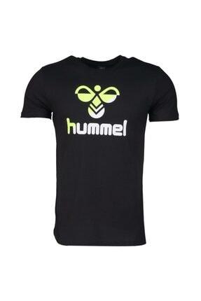 HUMMEL Rodney Siyah Kısa Kollu Erkek T-Shirt 1